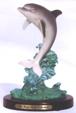 Leaping Dolphin Figurine FREE SHIPPING!