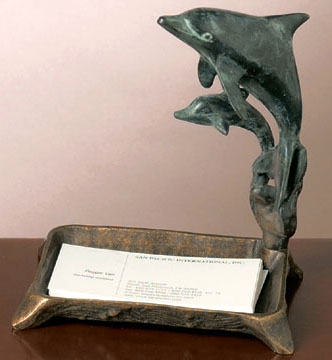 Dolphin Card Holder