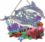 Dolphin Family Suncatcher