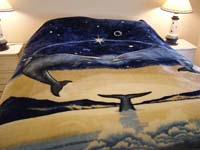 Kissing Dolphin Blanket SORRY... SOLD OUT