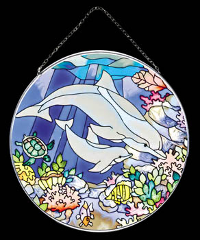 Dolphin Circle Suncatcher