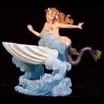 Dancing Mermaid Oil Burner