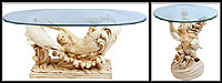 Set of 2 Mermaid & Dolphin Tables