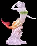 Elegant Mermaid Lucite Sculpture