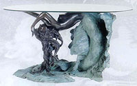 Fine Art Mermaid Dining Table